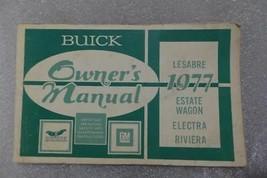 Buick Lesabre Electra Riviera Estate Wagon 1977 Owners Manual 14667 - $19.75