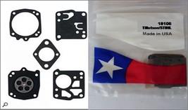 Carb Carburetor Diaphram Rebuild Kit Jonsered 70 80 90 1020 K650 52 621 625 630 - $10.50