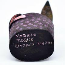 Handmade Oaxacan Alebrijes Wood Carving Folk Art Iguana Lizard on Rock Figurine image 5
