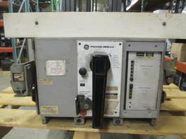 GE PowerBreak TPRR3608 800A Frame 600A Rated 3P 600V MO/DO Breaker w/I Used E-Ok - $2,400.00