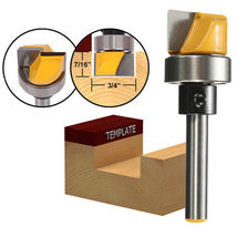 1/4 Inch Shank Hinge Mortise Template Router Bit Woodworking Milling Cutter - $6.97
