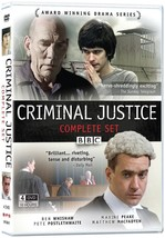 CRIMINAL JUSTICE Complete Collection DVD 4-Disc SET UK BBC Drama TV Show... - $14.20