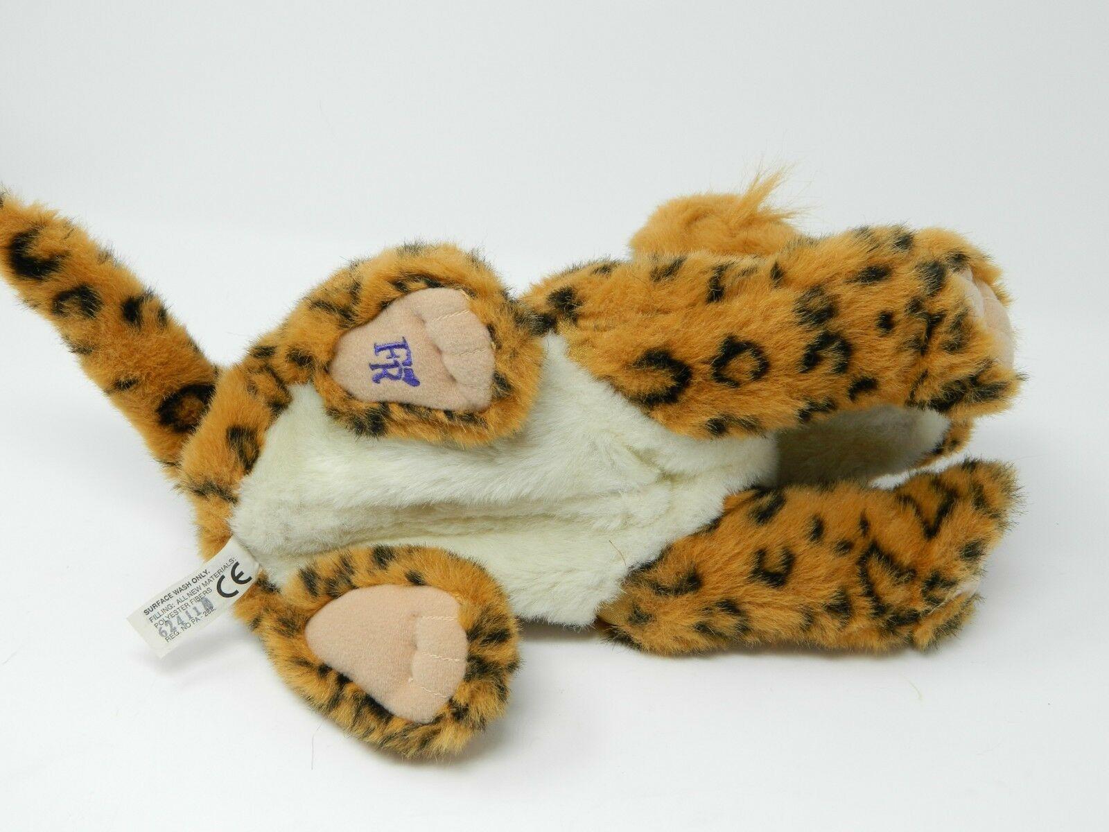 2006 FURREAL FRIENDS JUNGLE CAT HASBRO LEOPARD CHEETAH Animated Works
