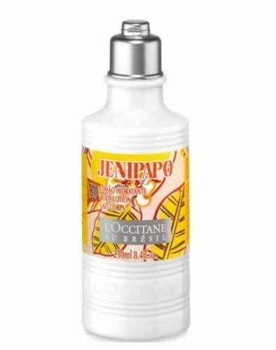 New L'Occitane Jenipapo Body Lotion Floral Fruity Scent FULL SIZE 8.4oz Womans