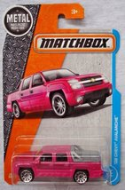 Matchbox 2017 MBX Adventure City '02 Chevy Avalanche 24/125, Pink - $9.99