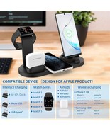 Wireless Charger Stand For Apple Watch 5 4 3 2 1 iPhone 11 X XS XR 8 Air... - $26.89