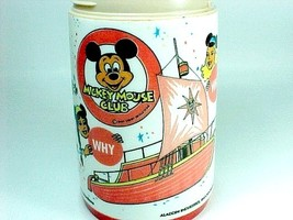 1977 Mickey Mouse Club Aladdin Thermos Bottle Walt Disney for Lunch Box ... - $9.95