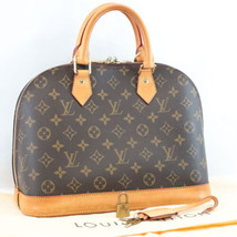 Louis Vuitton Monogram Alma Pm Hand Bag M53151 Lv Auth 7841 - $598.00