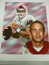 Jason White signed Oklahoma Sooners 20x24 Lithograph '03 - $23.95