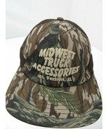 hat Midwest Truck Accessories Mt Vernon IL Made USA Snapback Adult Cap Hat - $14.84