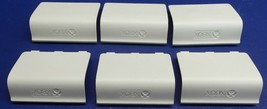 Lot of 6 Genuine Microsoft Xbox One 1697 Controller White Back Battery C... - $23.85 CAD
