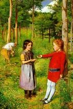 The woodman's daughter by John Everett Millais - Art Print - $19.99+