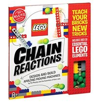 Klutz Lego Chain Reactions Science & Building Kit, Age 8, Multicolor - $20.67