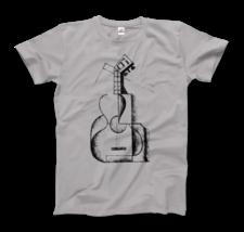 Juan Gris The Guitar 1912 Artwork T-Shirt - $19.75+