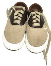 Polo Ralph Lauren Vaughn Canvas/Leather Sneakers Shoes  - $35.00