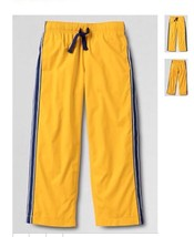 LANDS' END Tract PANTS Size: XL (18-20) New SHIP FREE Mesh Lined Брюки - $59.99