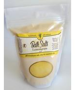 LEMON GRASS Bath Salts Soothing Essential Oils Natural Organic Soak - $12.71