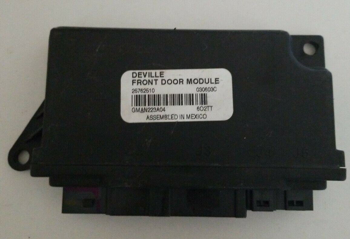 Primary image for 2004-2005 Cadillac DeVille Front Door Control Module GM OEM Multifunction Relay