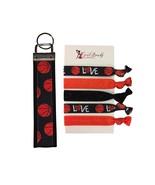 Basketball Gift Set, Basketball Keychain & Basketball Hair Ties - Perfec... - $13.50