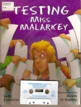 Testing Miss Malarkey (Paperback and Cassette) [Audio Cassette] [Jan 01,... - $15.99
