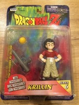 Dragonball Z Krillin Series 6 Action Figure 1999 Irwin Toys - $14.75
