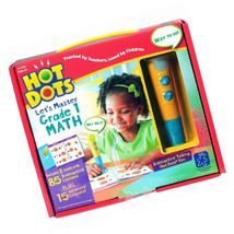 Educational Insights Hot Dots Let's Master Grade 1 Math Set with Talking... - $33.33