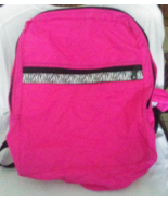 OH MINT Girls Neon Pink Zebra Backpack Bag RARE Neon Pink - $24.99