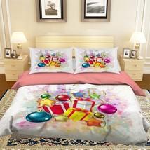 3D Christmas  Xmas 310 Bed Pillowcases Quilt Duvet Cover Set Single Queen King - $64.32+