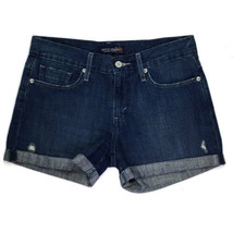 Levi's Jeans Women's Mini Shorts Size 5 W31 Blue - $14.80