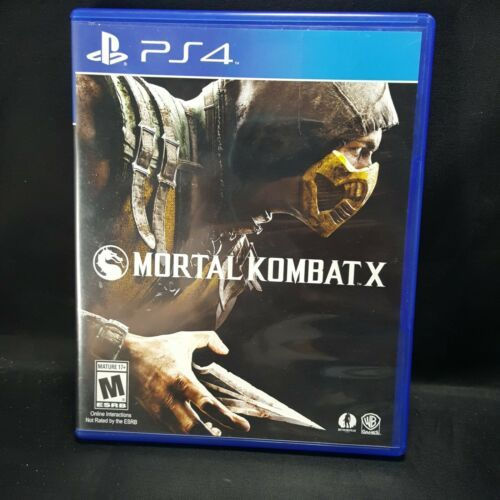 Mortal Kombat X 10 MK -  PS4 Sony Playstation 4  GAME Tested  image 2