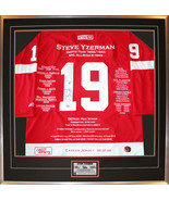 Steve Yzerman Career Jersey #199 of 199 - Autographed - Detroit Red Wings - $3,759.00