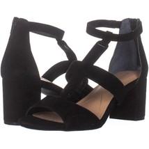 Alfani Eliana T-Strap Sandals 710, Black, 9.5 US - $26.87