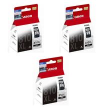 Canon Black Ink Cartridges (for iP2770/MX426/MX416/MP497/MP496) (3pcs), PG-810XL - $93.99