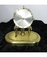 Vintage Kenninger & Obergfell KUNDO Anniversary Clock Brass W Germany Pa... - $98.95