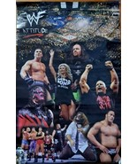 Wwe Wwf Attitude 2008 Poster Sign Stone Cold Rock UndertAker Collage  - $12.77