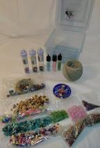 L@@K Mixed Lot Beading Supplies Beads Hemp Cord Bead stretch Jewelry cord - $9.00