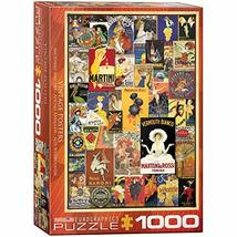 EuroGraphics Vintage Posters Jigsaw Puzzle (1000 Piece) - $20.96