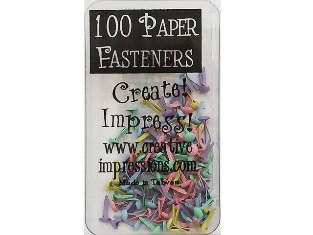 Creative Impressions Pastel Micro Round Brads #90171