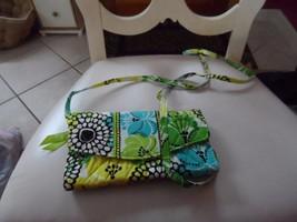 Vera Bradley strap wallet in retired LImes Up pattern  NWOT - $24.00