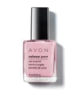 Avon Nailwear Pro Pastel Pink Nail Polish New in Box  - $14.99