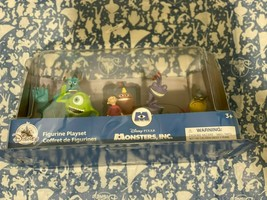 Disney Store Monsters, Inc. Figure Play Set New - $28.19