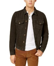 Tommy Hilfiger Men's Garment Dyed Denim Jacket (XL, Dark Brown) 3281-4 - $59.24