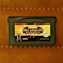 Fire Emblem The Sacred Stones, Nintendo Game Boy Advance GBA, (Tested/Wo... - $7.60