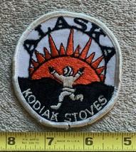 RARE patch KODIAK STOVES ALASKA ADVERTISING TRAVEL Collectors Vintage - $12.33