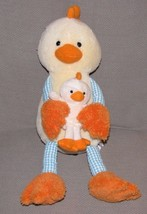 ANIMAL ADVENTURE STUFFED PLUSH DUCK CHICK CHICKEN YELLOW BLUE WHITE GING... - $49.49