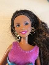 "2001 Mattel 12"" Barbie Dolls Brown hair  in Cloth - $10.40"