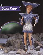 Space Patrol Costume, Annies Fashion Doll Plastic Canvas Pattern Leaflet... - $1.95