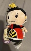 Hallmark Itty Bittys Queen of Hearts Alice in Wonderland Plush New with ... - $11.64