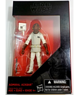 Star Wars Black Series Admiral Ackbar 3.75 inch action figure - $9.95