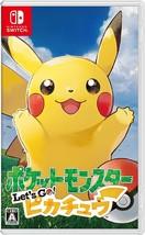 Pokemon Let's Go Pikachu Nintendo Switch Pocket Monsters F/S Japanese Ve... - $74.10
